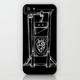 Heart Guillotine iPhone Case