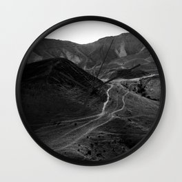 Mountains of the Judean Desert 5 Wall Clock