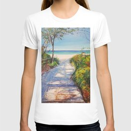 Boardwalk to Beach T-shirt