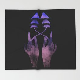 Psychedelic Research Associate #1 Throw Blanket