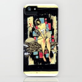 Ripley & The Bad Bitch iPhone Case