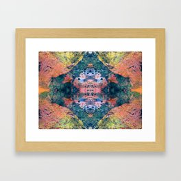 View To The King's Hall Framed Art Print