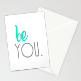 Be You. Stationery Cards