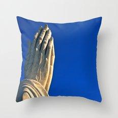 The Day's Final Prayer Throw Pillow
