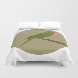 Mitred Parakeet Duvet Cover