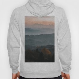 Hazy Mountains - Landscape and Nature Photography Hoody