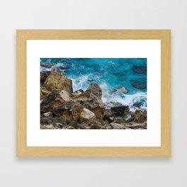 Rocky Coast Framed Art Print