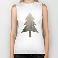mountain Biker Tanks featuring Mountain Haze by Kurt Rahn