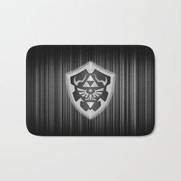 Zelda Shield Triforce Bath Mat
