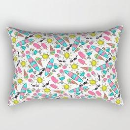 Beach Summer Pattern Rectangular Pillow