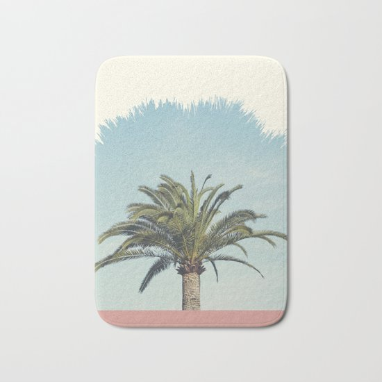 Palm Tree Bath Mat