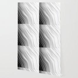 stripes wave pattern 1 bwbfv Wallpaper