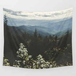 Smoky Mountains - Nature Photography Wall Tapestry