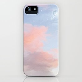 Walking through the clouds iPhone Case