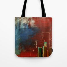 Death of Detriot - Skyline  Tote Bag