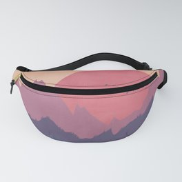 Dreamy Sunset Fanny Pack