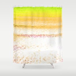 Yellow Sea Shower Curtain
