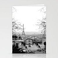 paris Stationery Cards featuring Paris by Studio Laura Campanella