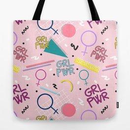 GRL PWR #society6 #pattern #grlpwr Tote Bag