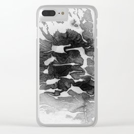 task Clear iPhone Case