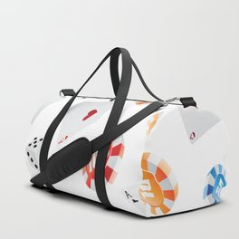 #casino #games #accessories #pattern Duffle Bag