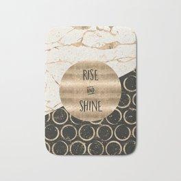 GRAPHIC ART Rise and shine Bath Mat