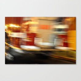 Go Faster :) Canvas Print