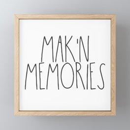 Mak'n Memories Framed Mini Art Print