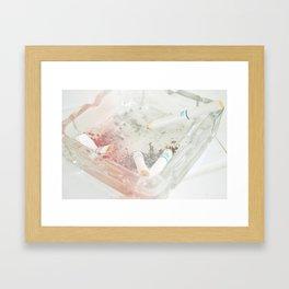 Ash ash ash tray  Framed Art Print