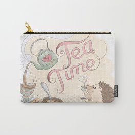 Tea Time with Harriet Hedgehog Carry-All Pouch