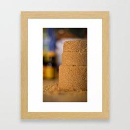 Elemental Baking - Brown Sugar Framed Art Print