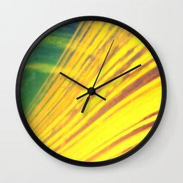 bridges of the sun (pinhole camera) Wall Clock