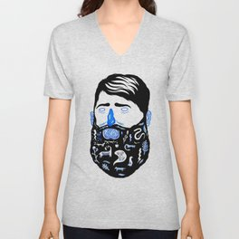 Animal Beard Unisex V-Neck