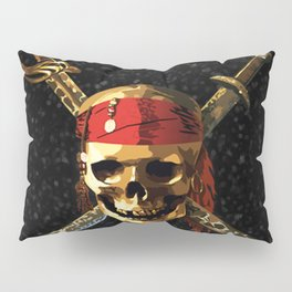 The Skull Smile Pirates Pillow Sham