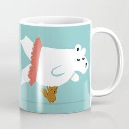 You Lift Me Up - Polar bear doing ballet Coffee Mug