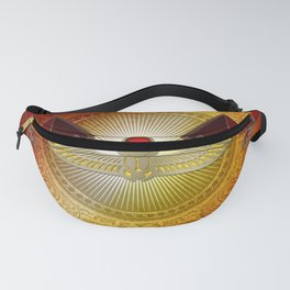Egyptian sign, the scarab Fanny Pack