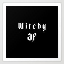 Witch af Art Print