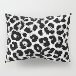 ReAL LeOparD B&W Pillow Sham