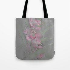 Rose Orchid Drawing Tote Bag
