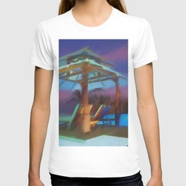 Tropical Nightscape T-shirt