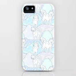 Alaskan Malamute Ice Den iPhone Case