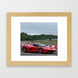 LaFerrari Framed Art Print