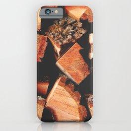Wood Logging iPhone Case