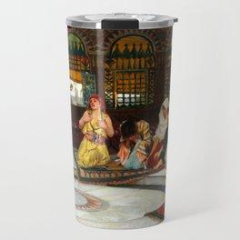 "John William Waterhouse ""Consulting the Oracle"" Travel Mug"