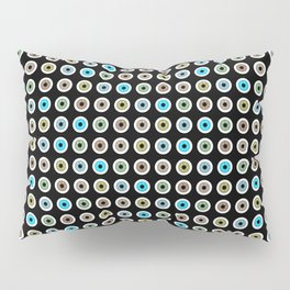 googly eyes pattern Pillow Sham