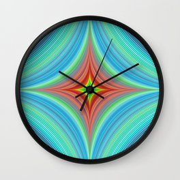 Happy abyss Wall Clock