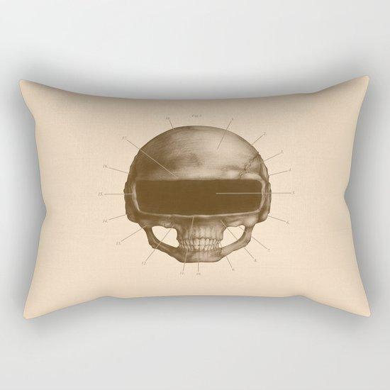 Anatomy of Daft Punk Rectangular Pillow