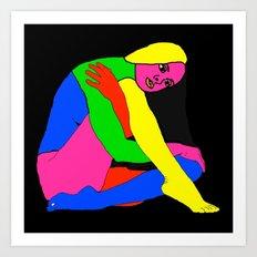 Gymnast Art Print