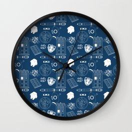 Wibbly wobbly... stuff Wall Clock