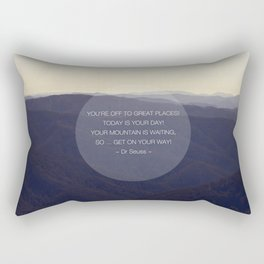 You're off to great places ... Rectangular Pillow